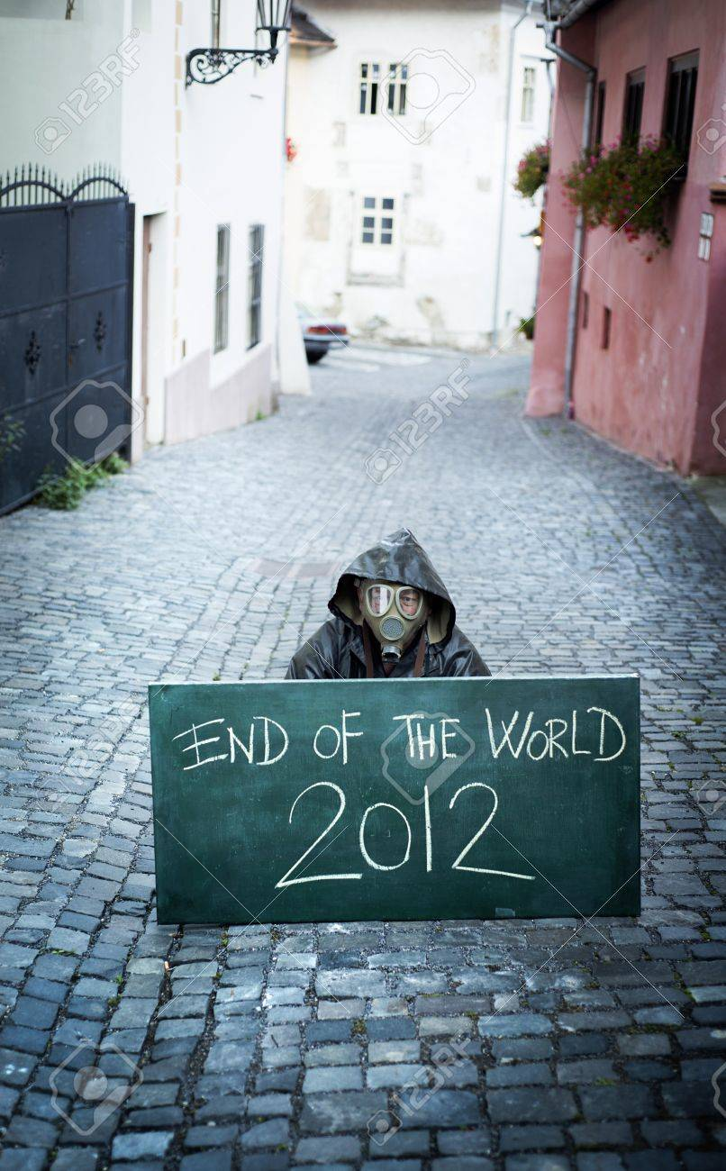 End of the world Stock Photo - 16334592