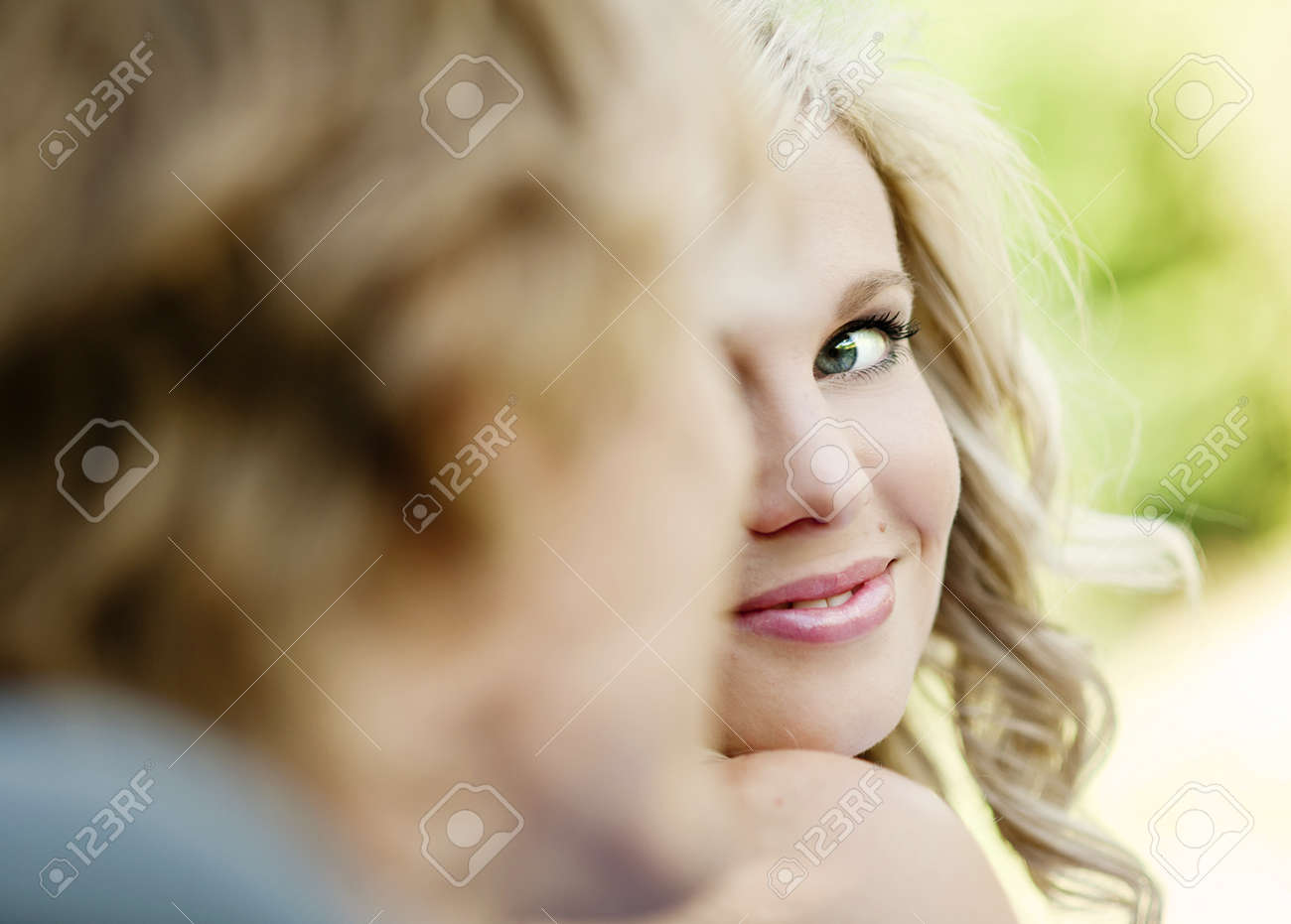 Beautiful wedding couple is enjoying wedding Stock Photo - 17936099