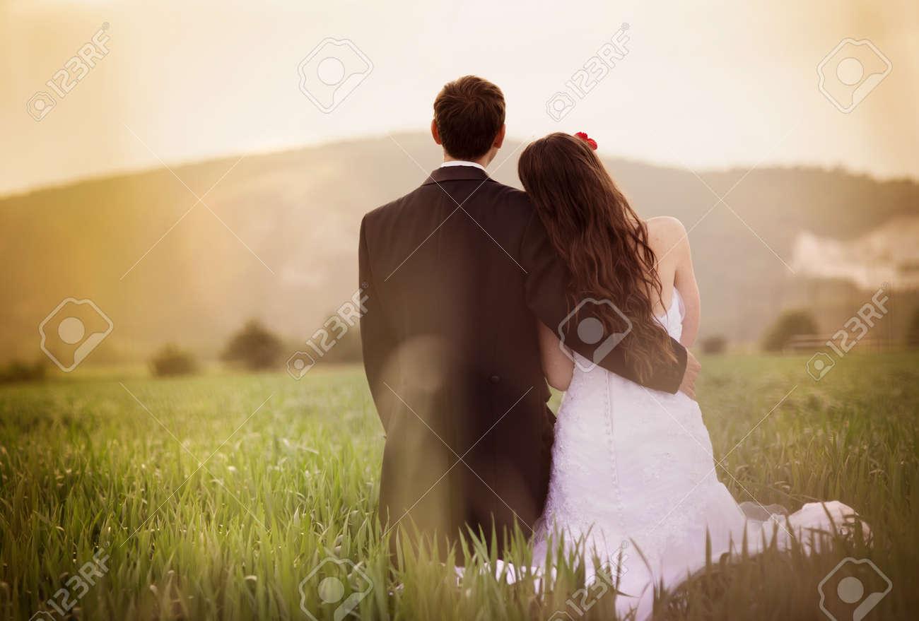 Wedding portraits Stock Photo - 22153296