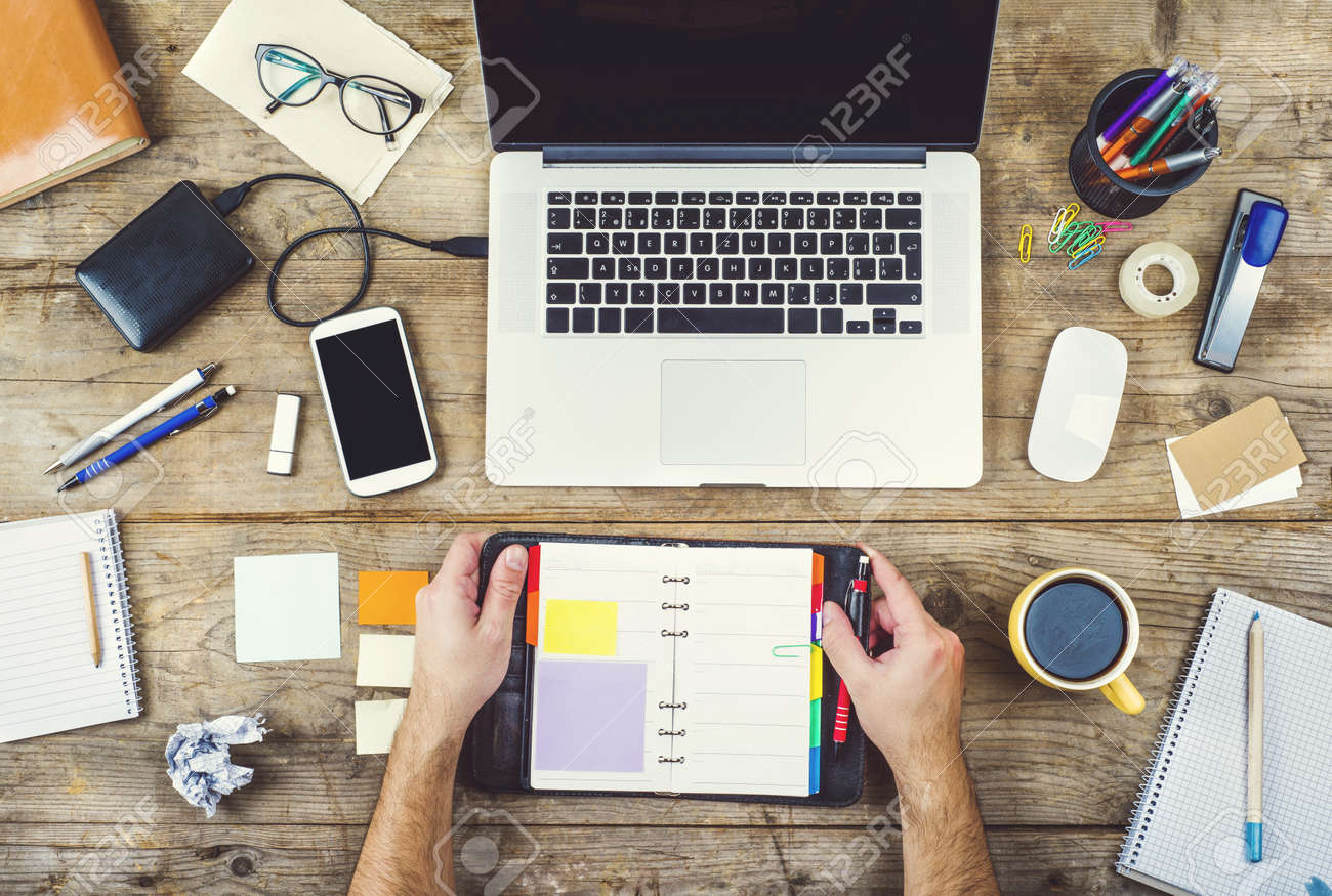 Creative Desk Stock Photo - 36609608