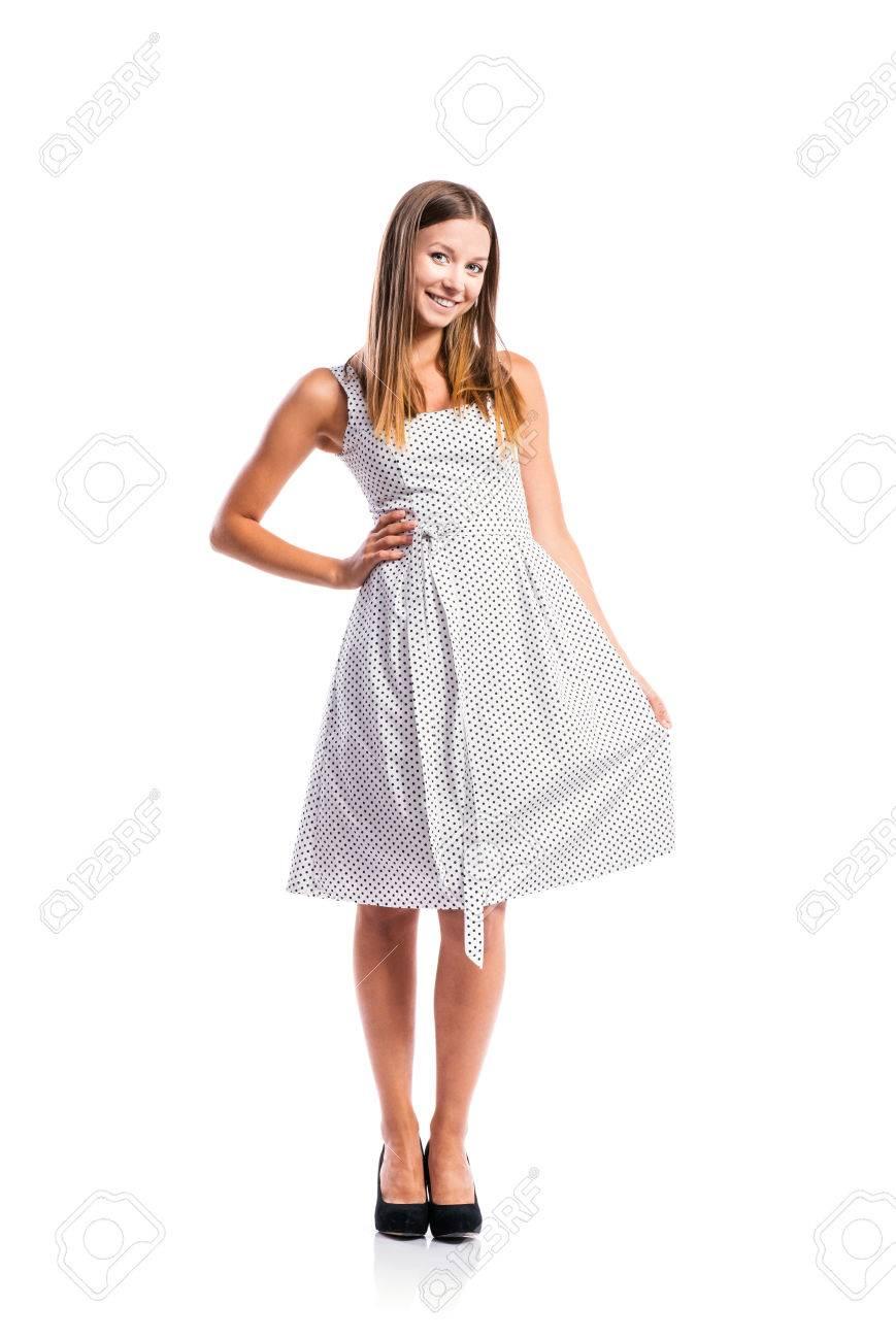 Zapatos para vestido negro con puntos blancos