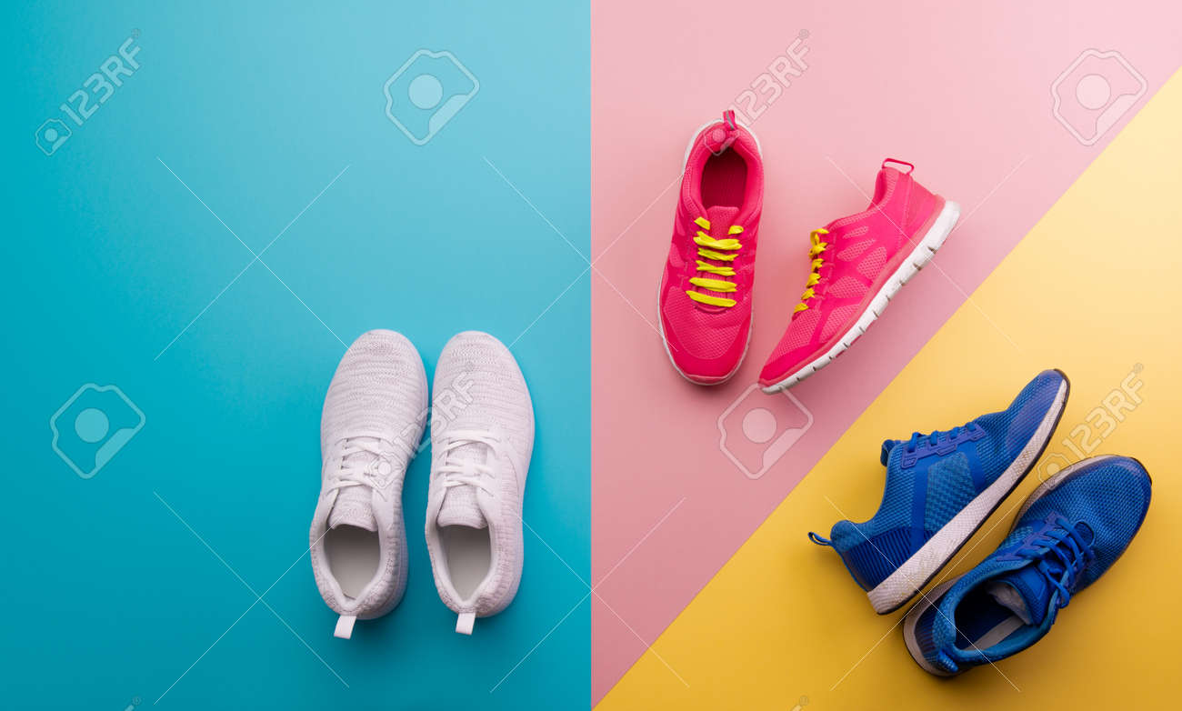 Bright Color Background. Flat