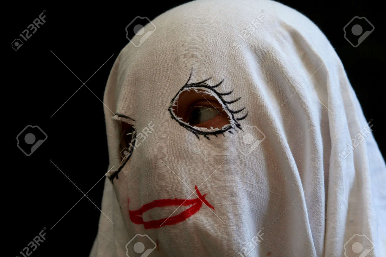 Little, Funny Ghost Stock Photo, Picture And Royalty Free Image ...