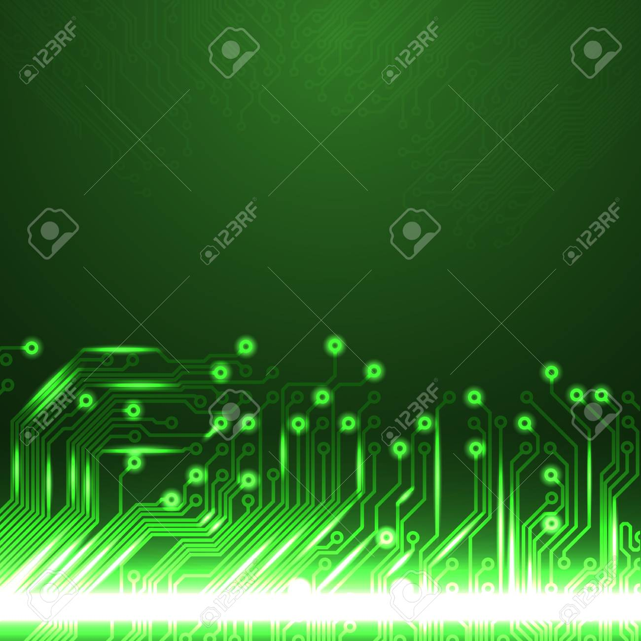 Abstract Electronics Green Background With Circuit Board Texture Textures Pinterest Eps10 Vector Pattern For Your Business