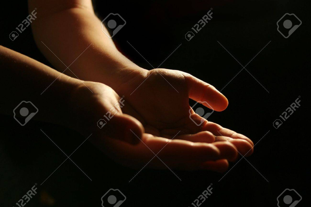 worshiping hands Stock Photo - 628830
