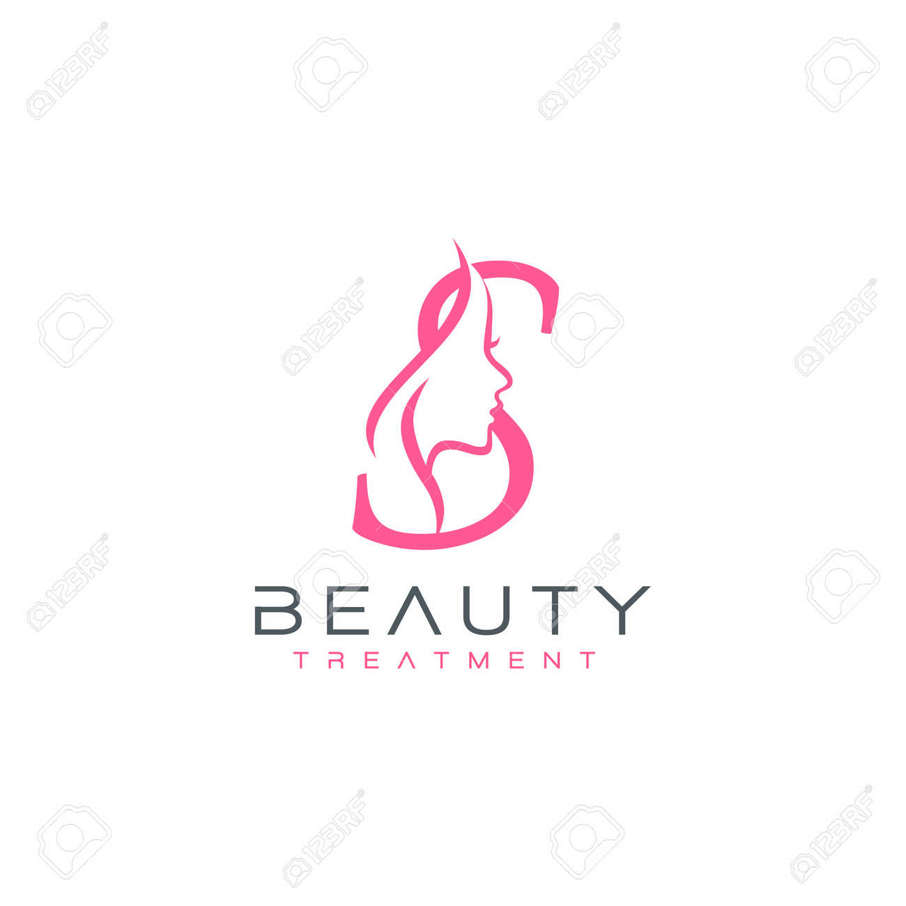 Letter S Beauty Face Logo Design Vector Icon Royalty Free Cliparts Vectors And Stock Illustration Image 142538917
