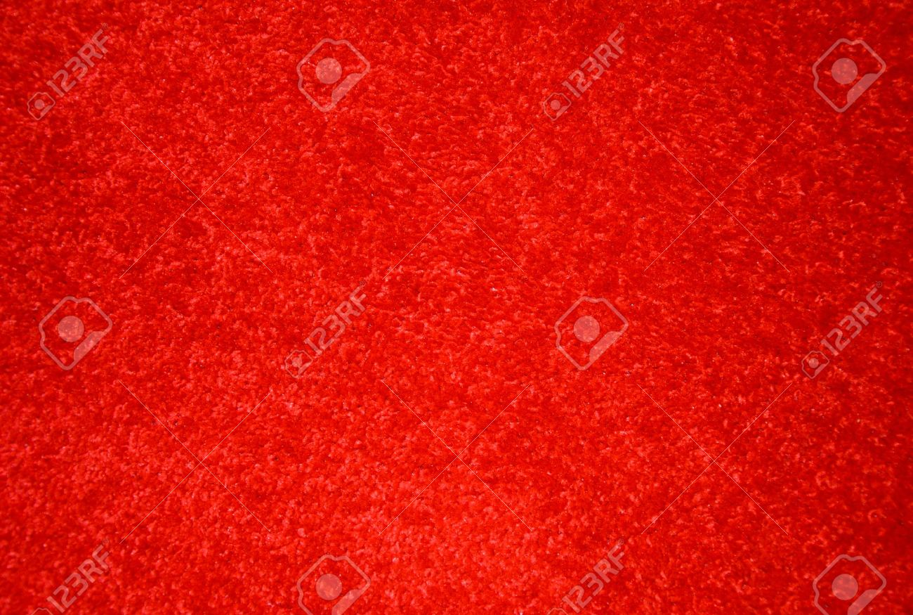 Red carpet on the floor. Stock Photo - 9323473