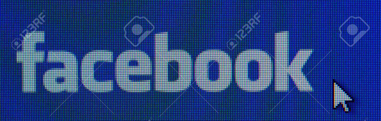 PRAGUE, CZECH REPUBLIC - 22 JANUARY, 2014  Facebook sign on main page in 22 January, 2014  Facebook is the most popular social network all around the world Stock Photo - 25455096