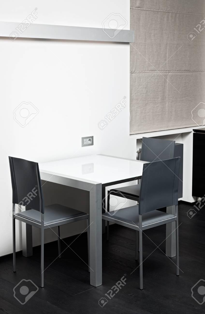Alta Tecnología Mesa De Comedor En Estilo Minimalista Moderno Fotos ...