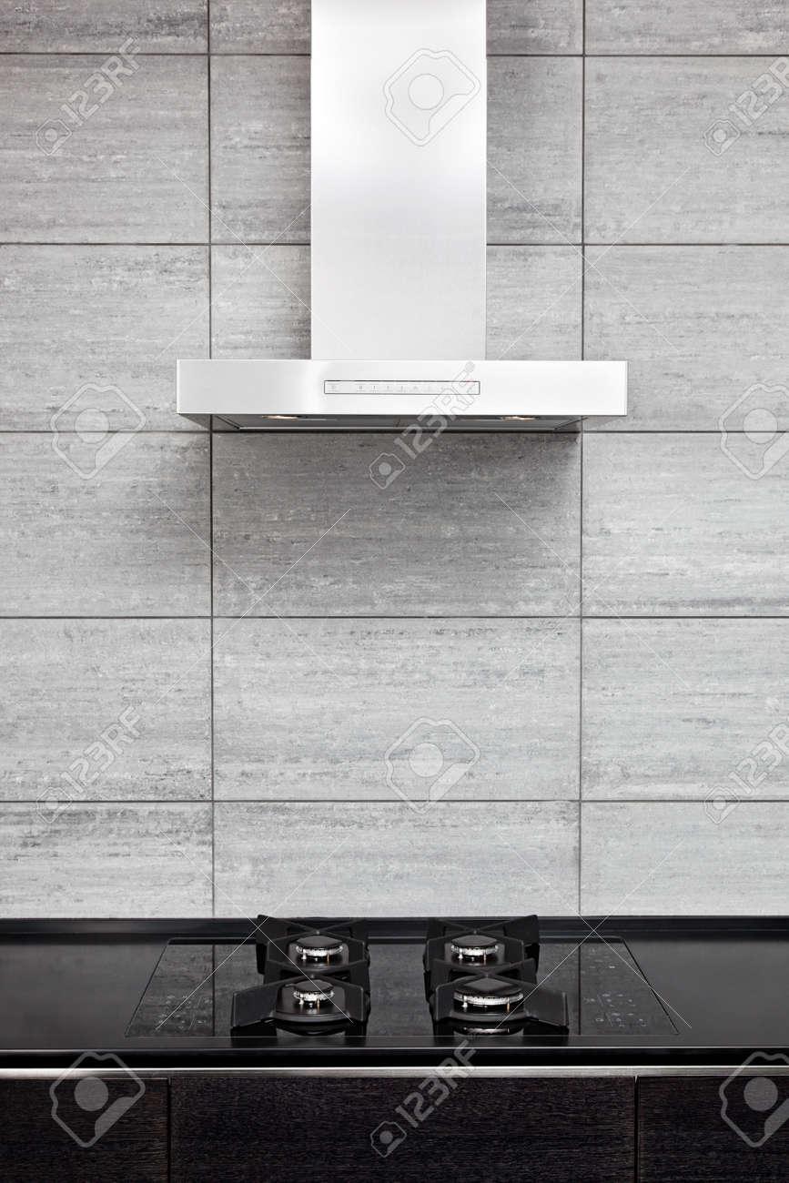 Campanas De Cocinas Modernas Excellent Una Cocina Con Puertas De  # Muebles De Cocina Pixys