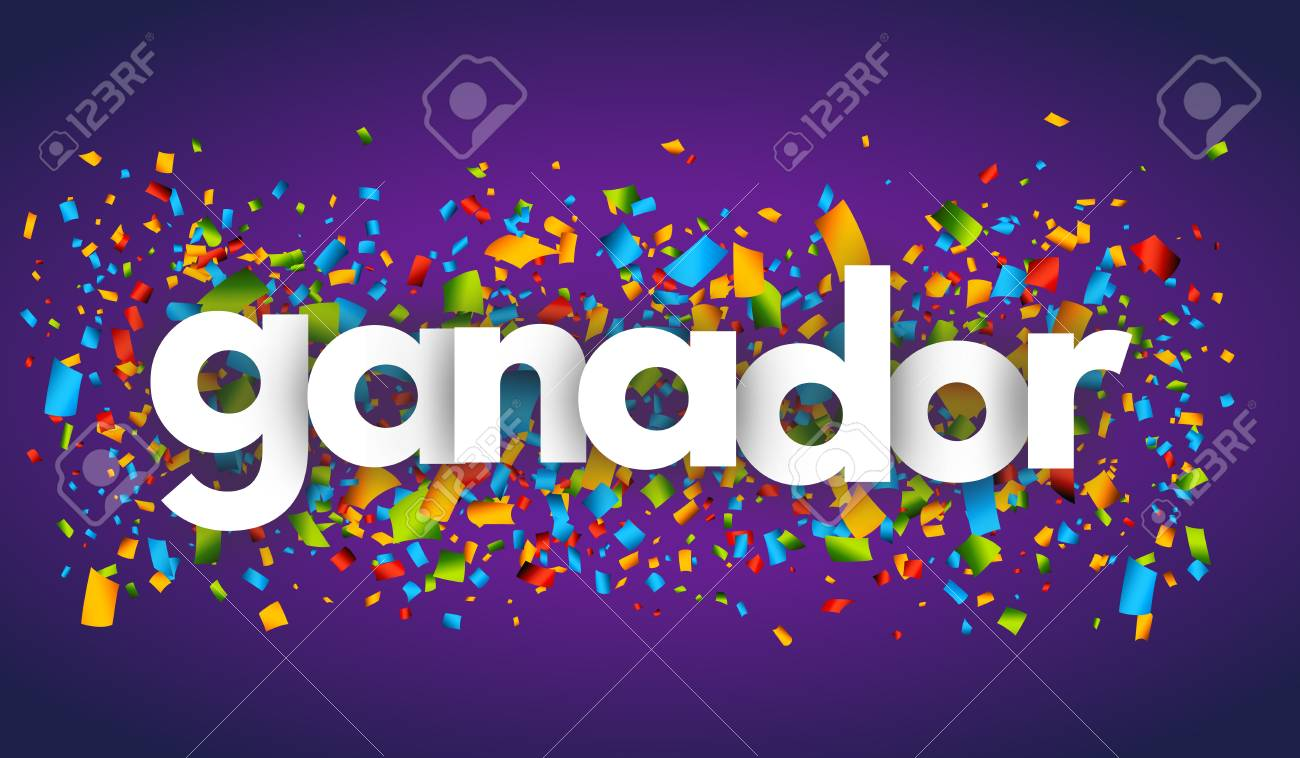 winner letters vector banner sign royalty free cliparts vectors