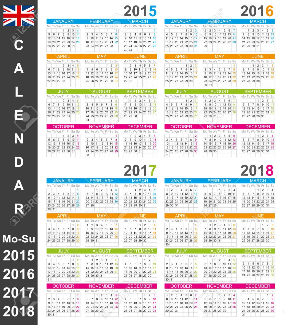 Week Calendar 2015