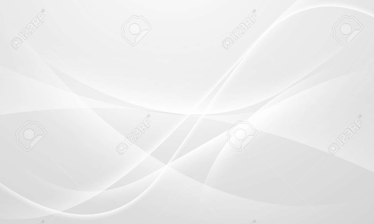 Abstract grey background poster with dynamic waves. technology network Vector illustration. - 152511002
