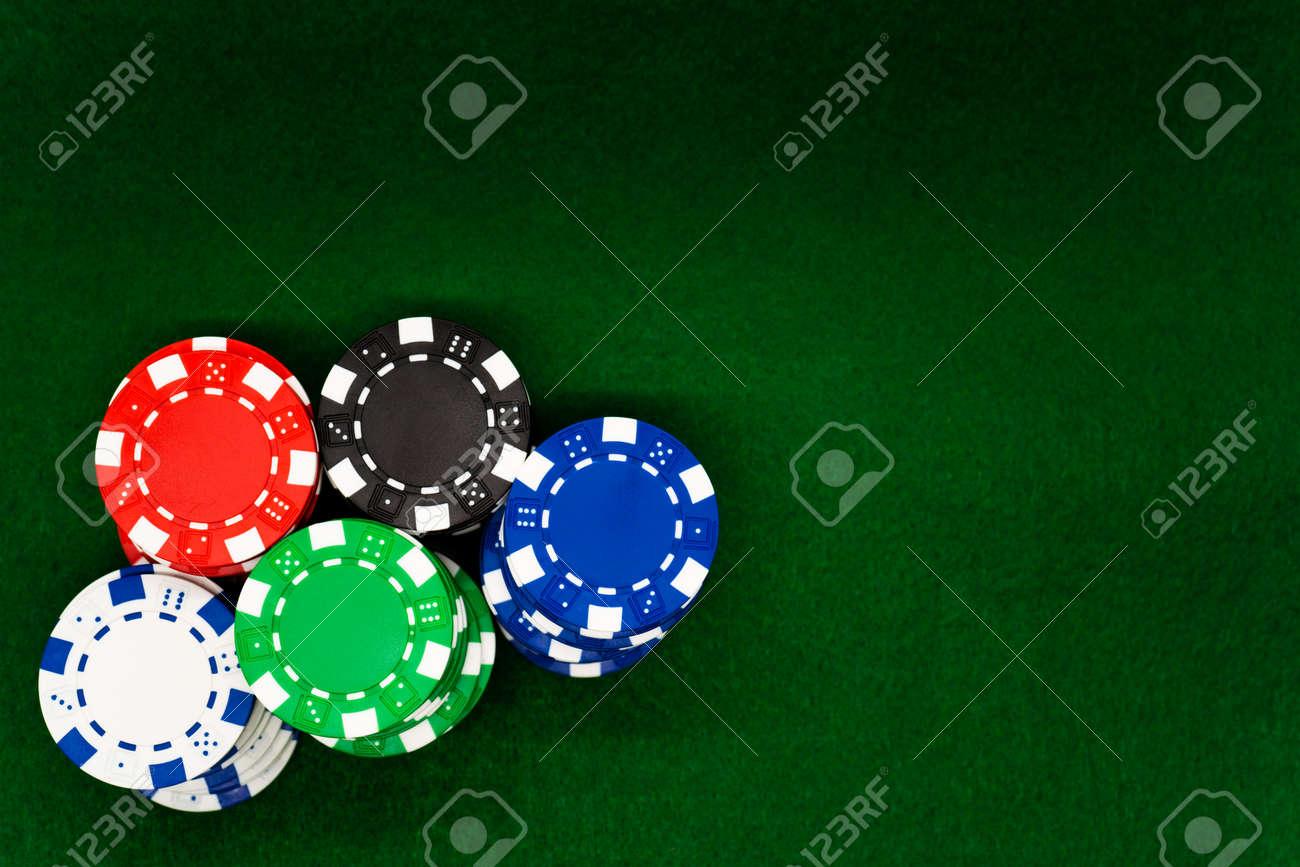 Poker chips - 147666015