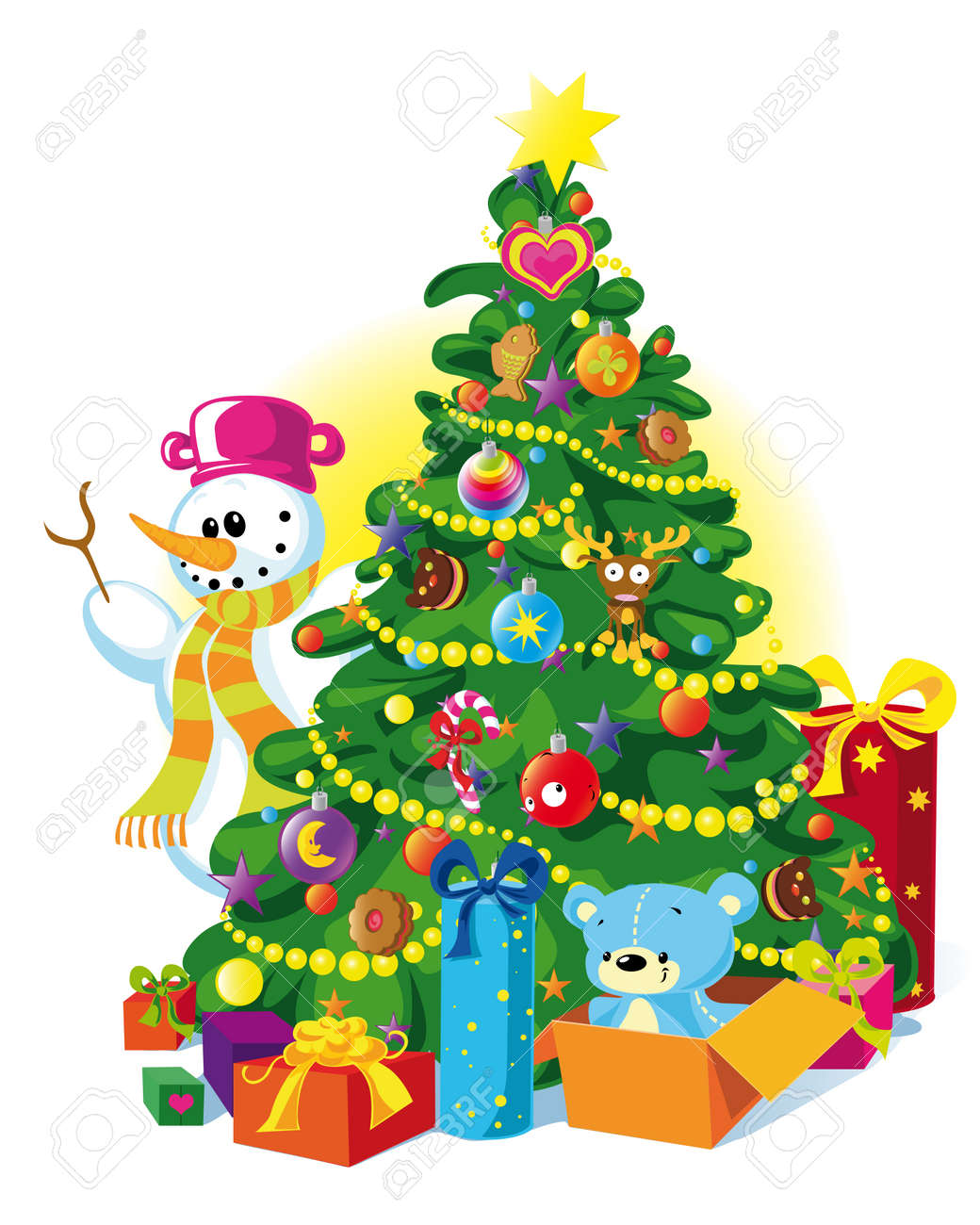 Christmas Tree Stock Vector