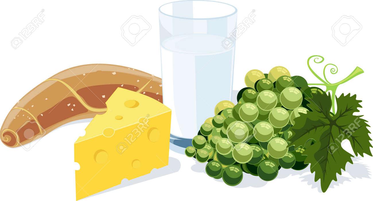 healthy breakfast Stock Vector - 14951727