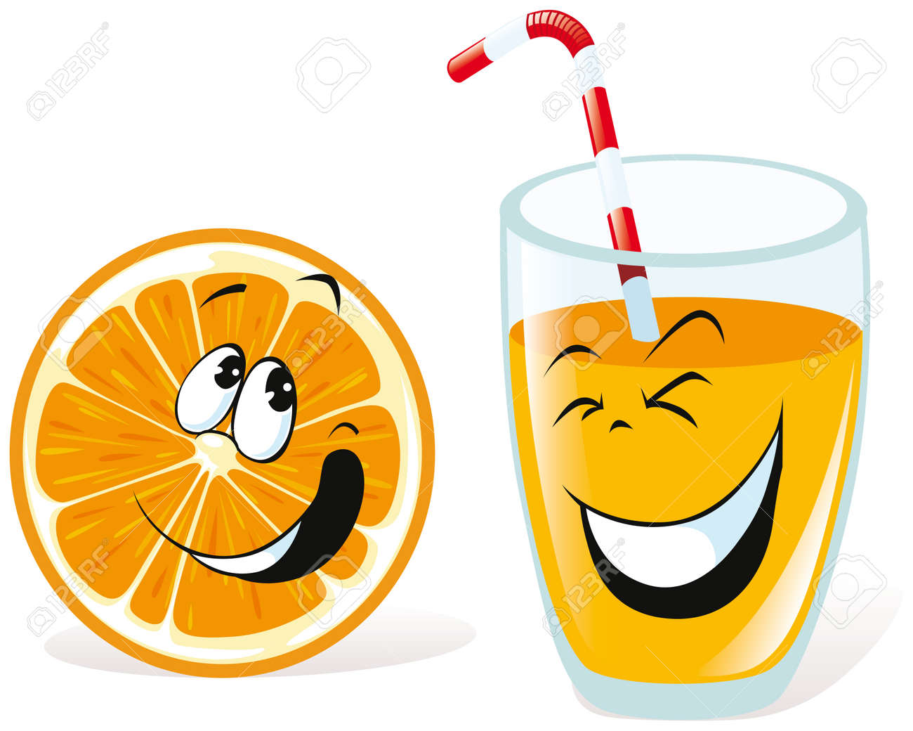 Orange Juice Glass Clipart Juice Glass Orange And Juice