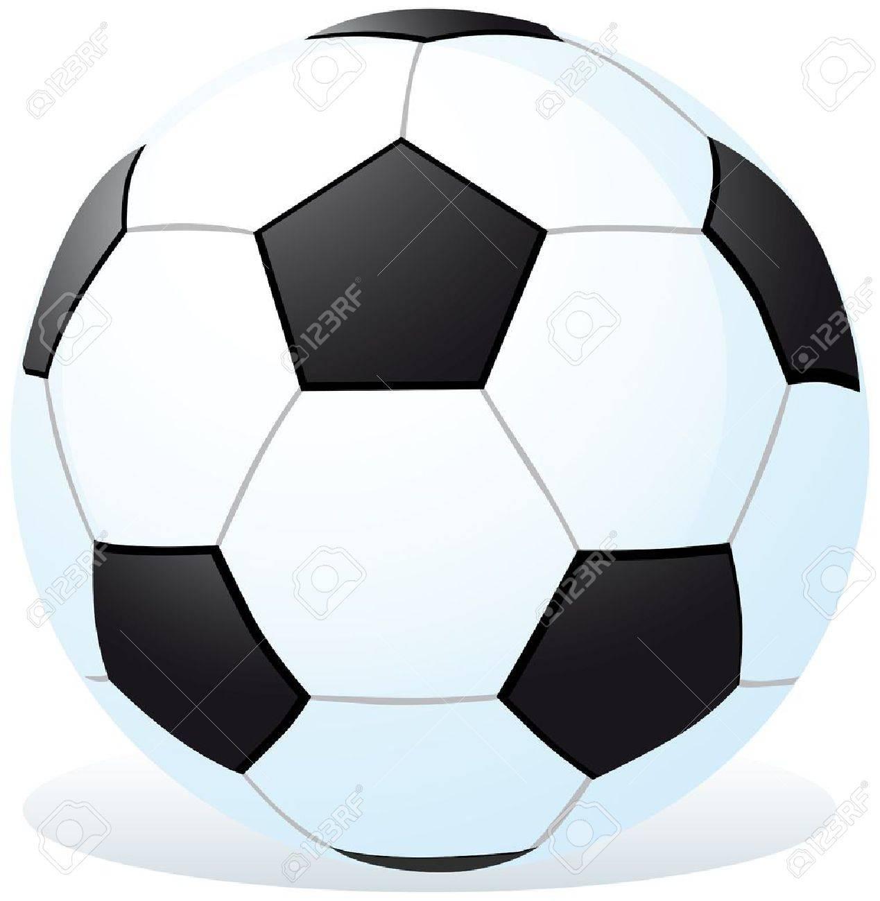 Dibujos Animados Balón De Fútbol Ilustraciones Vectoriales, Clip ...