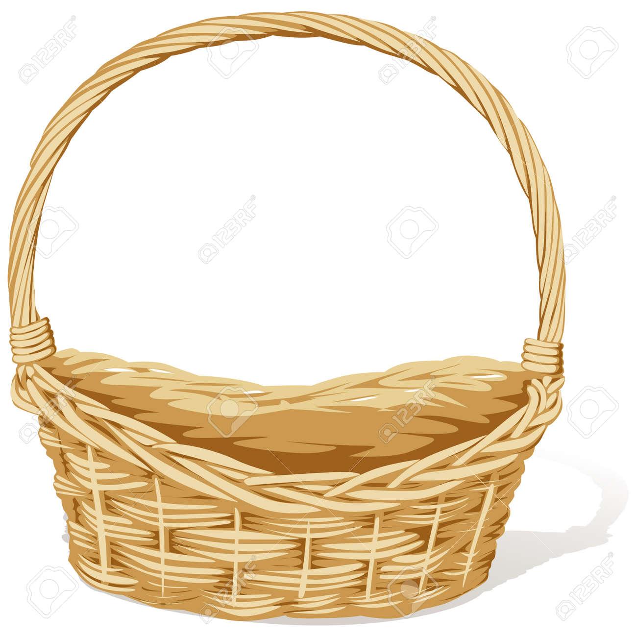 empty vector basket Stock Vector - 15094545