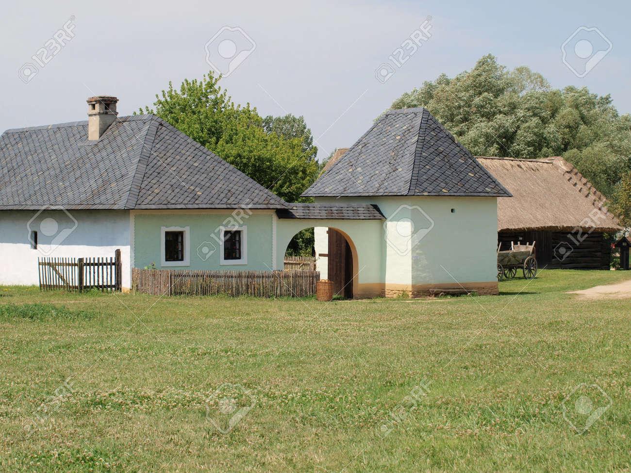 historic village construction , community nice , South Moravia . Czech Republic Stock Photo - 18679334