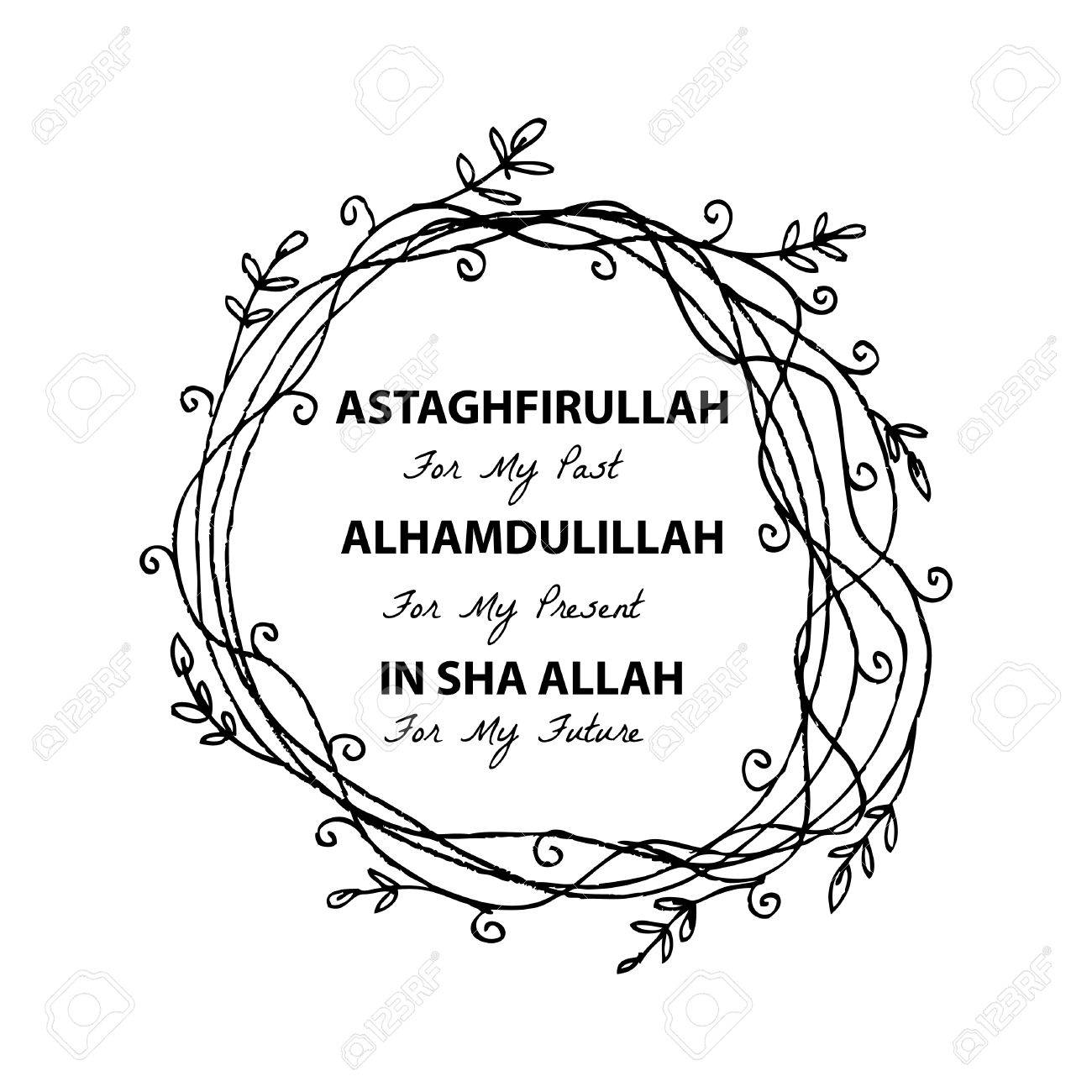 Astaghfirullah for the past alhamdulillah for the present in astaghfirullah for the past alhamdulillah for the present in sha allah for the future altavistaventures Images