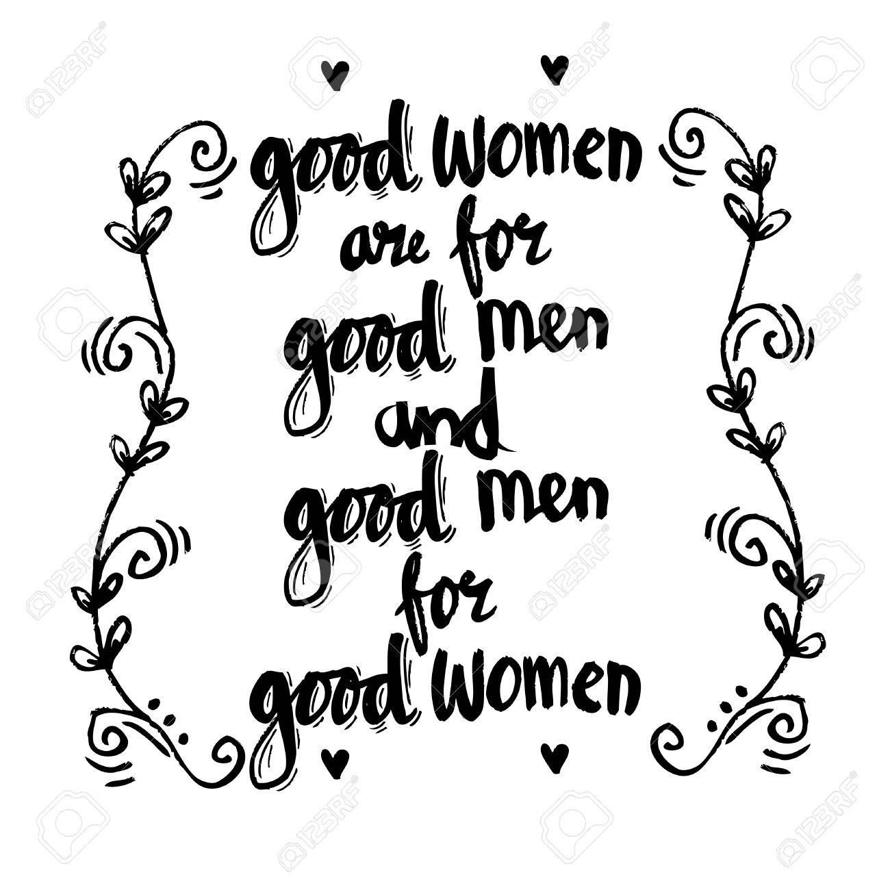 Stock illustration 3d red text quot yes quot stock illustration royalty - Friendship Quotes Good Women Are For Good Men And Good Men For Good Womwn