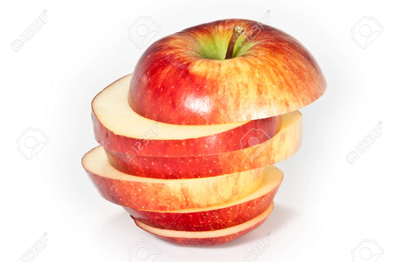 Sliced apple Stock Photo - 9866701