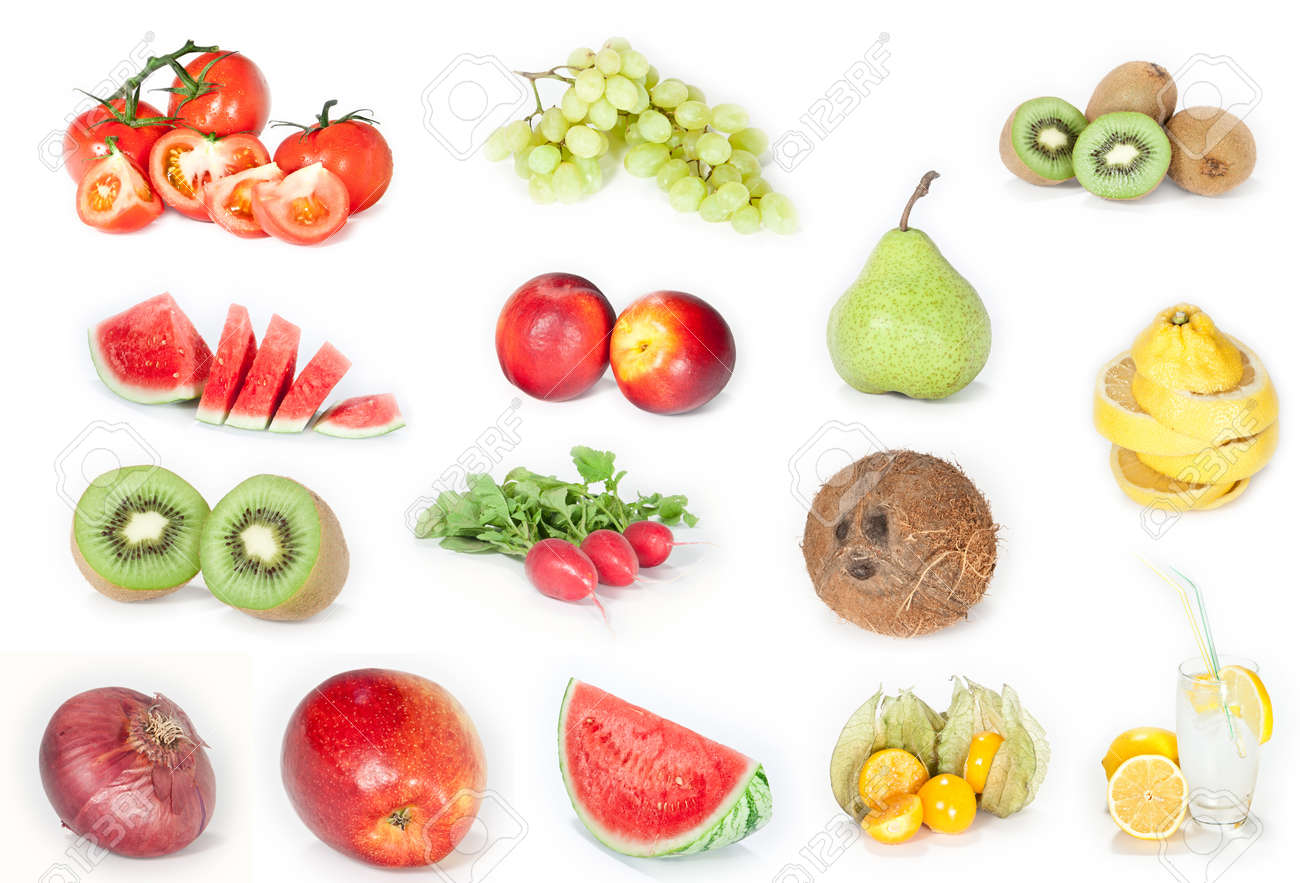 Fruits and vegetables Stock Photo - 10756838