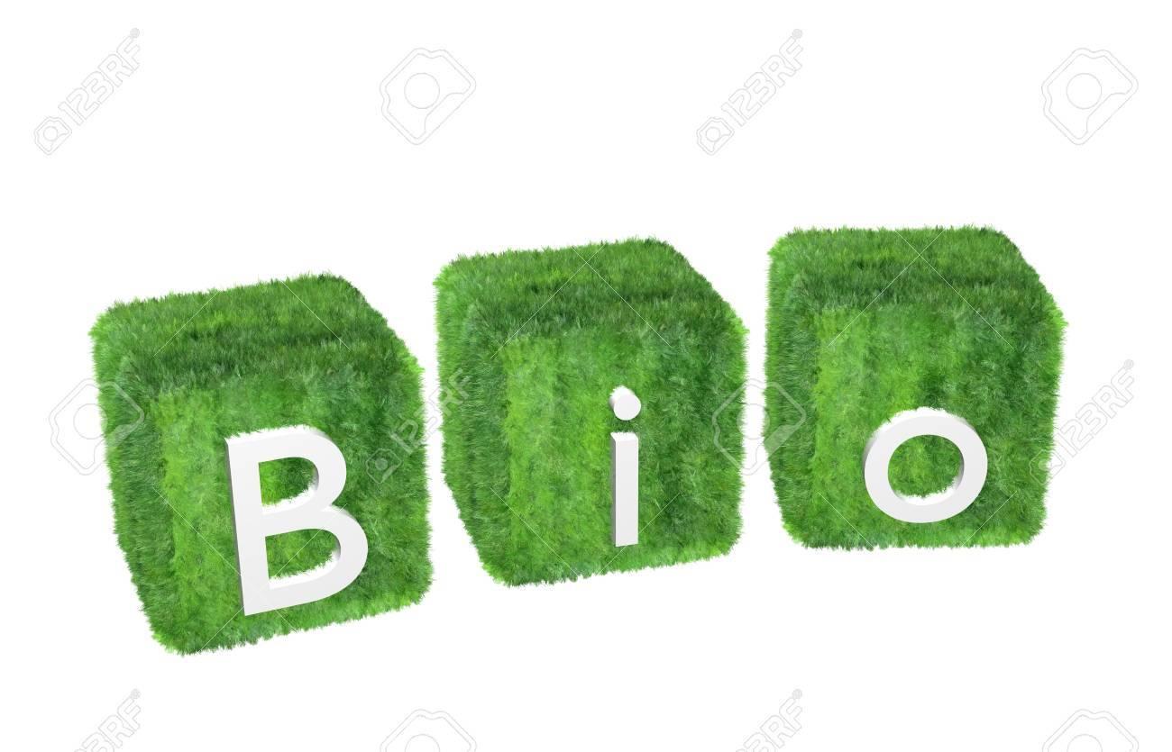 Bio-logo isolated on white background Stock Photo - 10775907