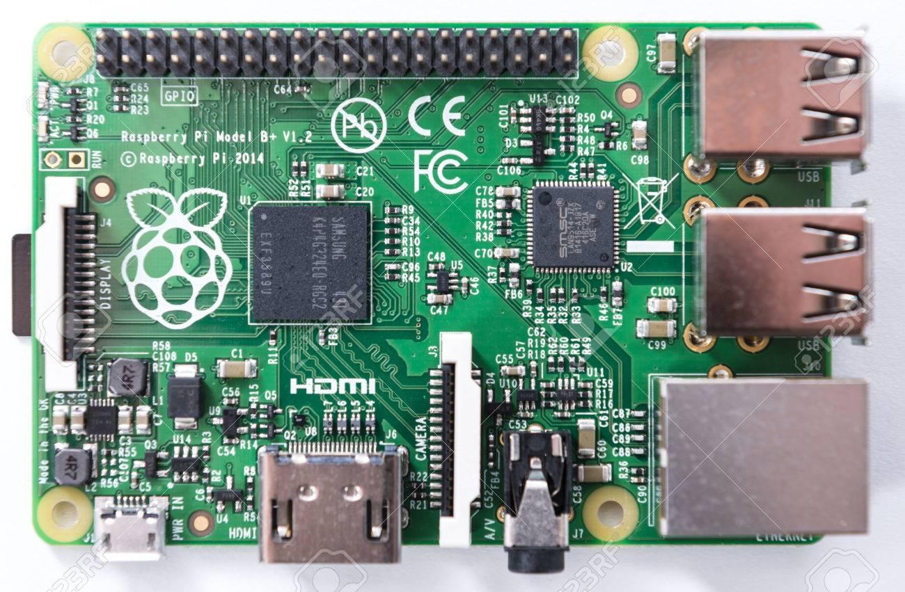 Raspberry Pi (en gros plan que l'image pour une utilisation éditoriale)