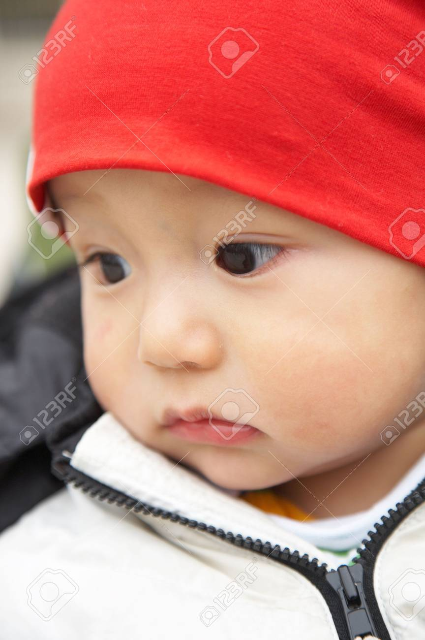 portrait of asian child Stock Photo - 4710341