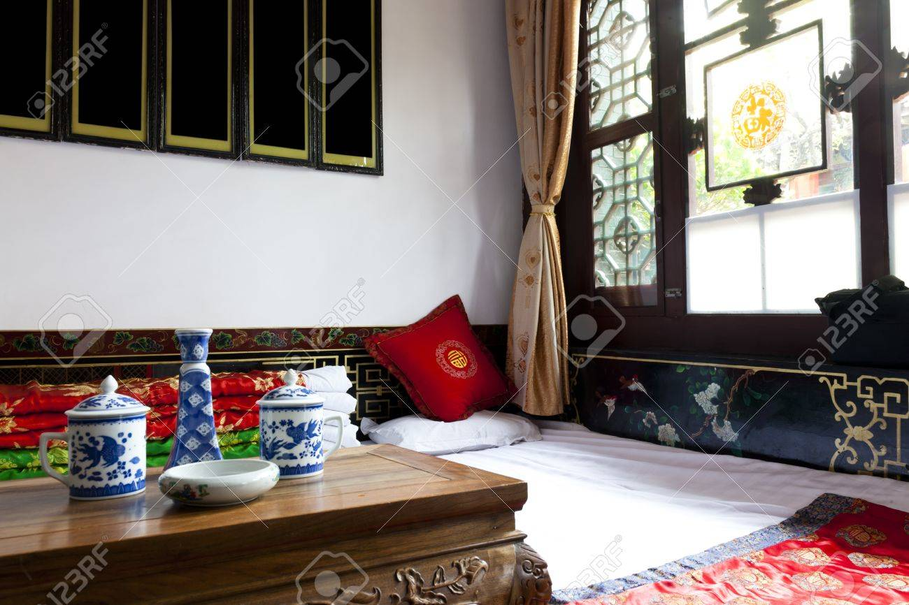 traditional chinese house interior chenjia laoyuan hotel pingyao