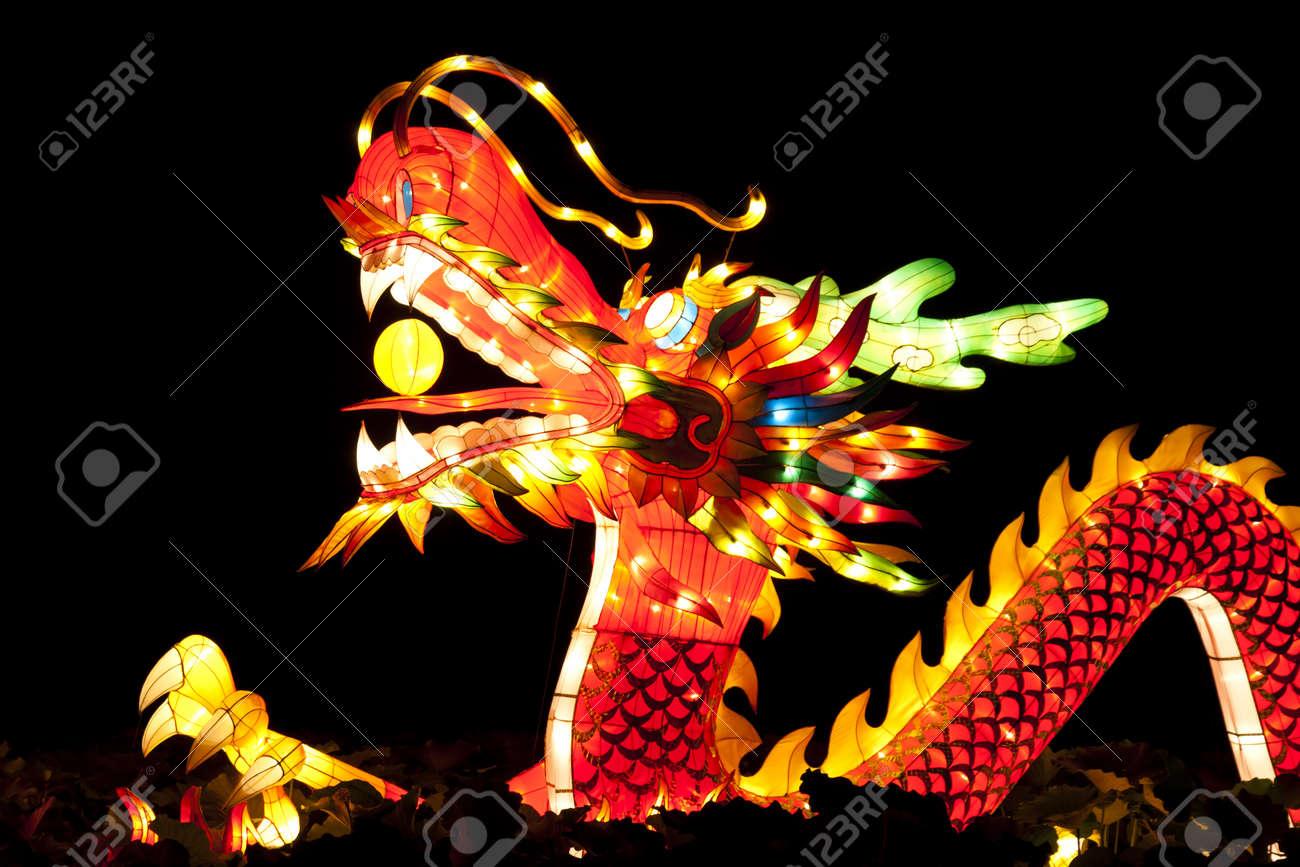 Festival dragon lanterns for celebration Chinese new year. Stock Photo - 11226653