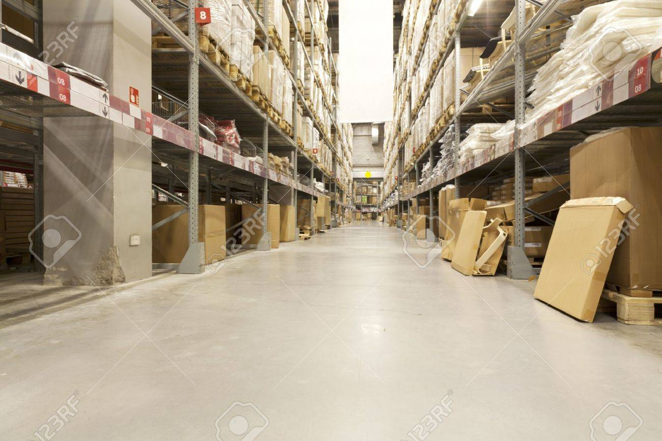 Furniture Warehouse Of IKEA Company In Beijing, China Stock Photo   11565107