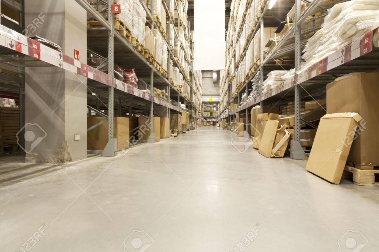 Meubels magazijn van ikea company in beijing, china royalty vrije ...
