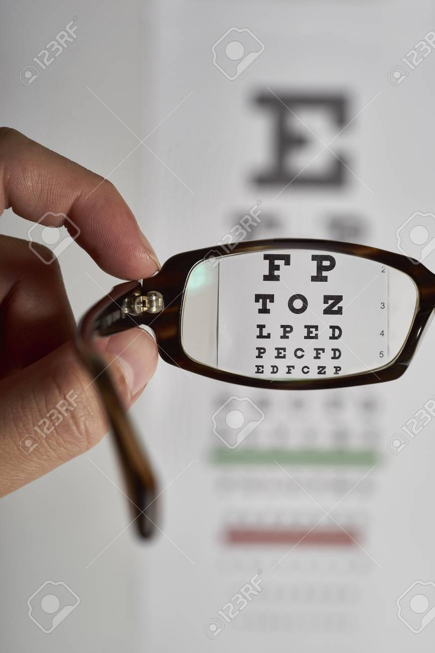 Eye glasses exam