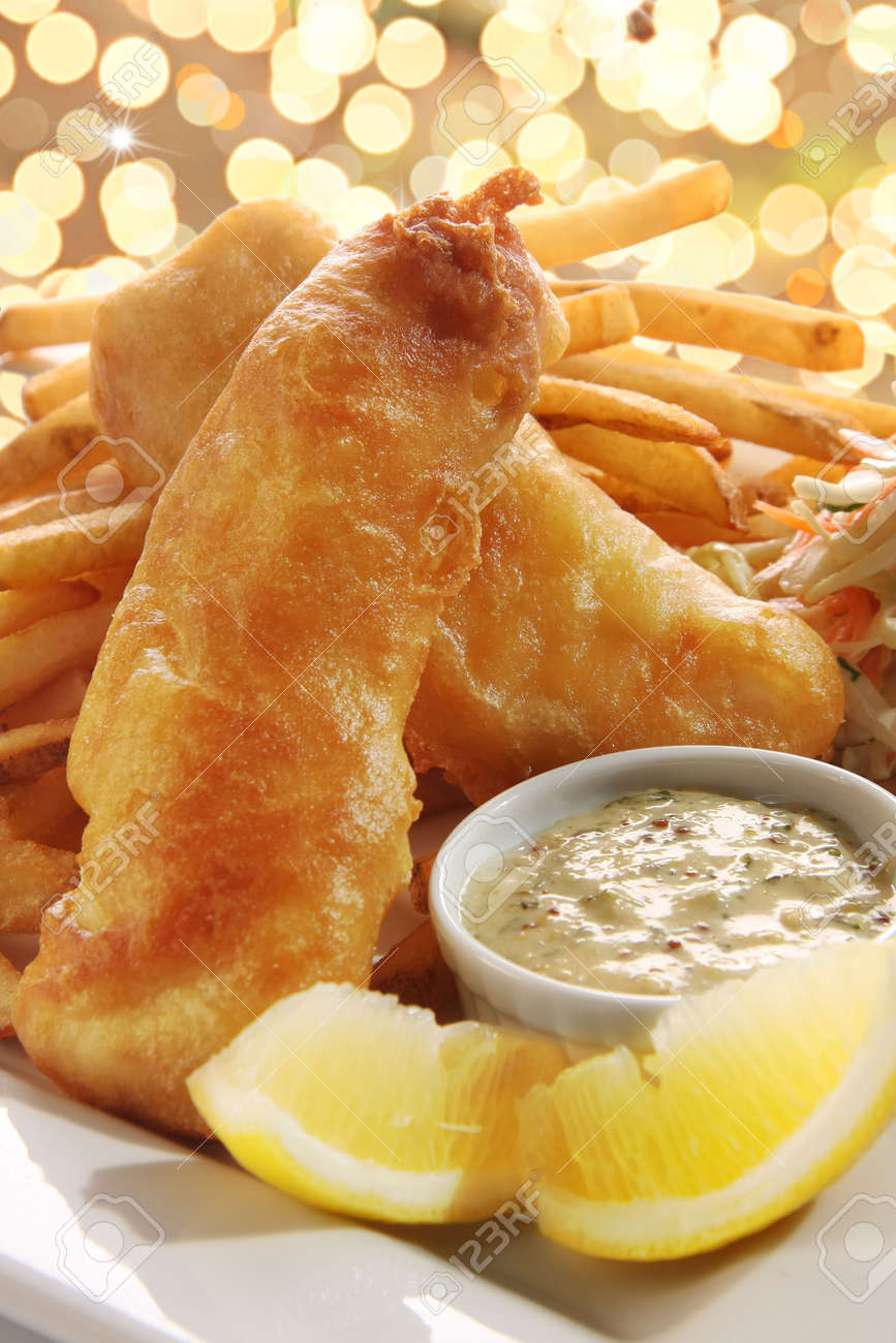 Fish and chips. Stock Photo - 6517859