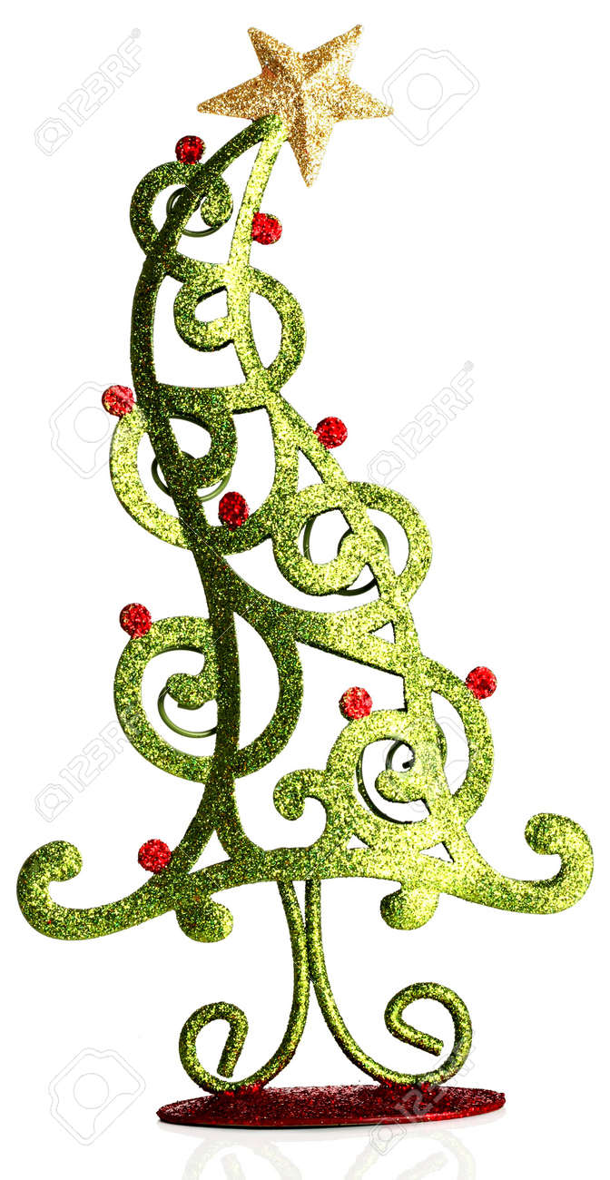 Contemporary Christmas Tree Ornament. Stock Photo, Picture And ...