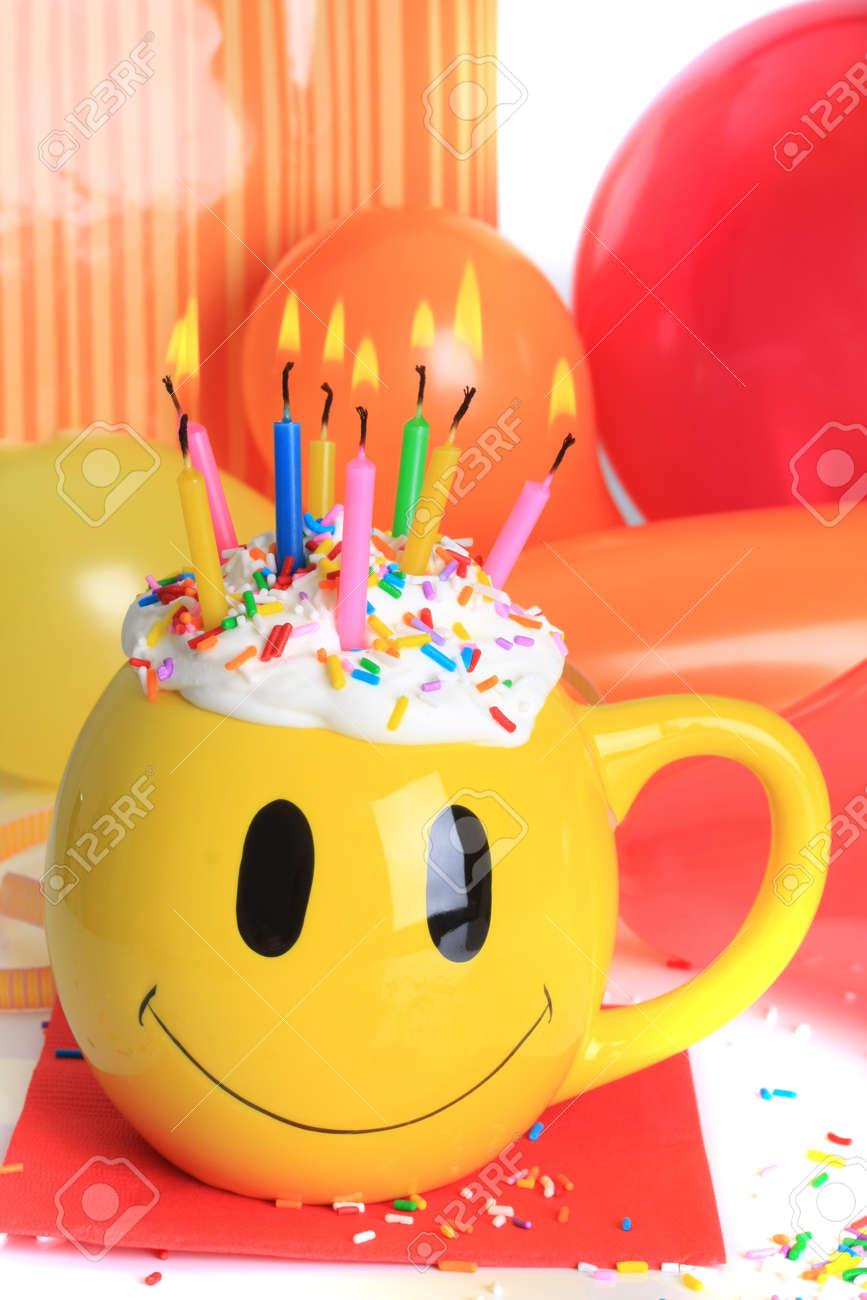 Birthday Smiley Face Clip Art