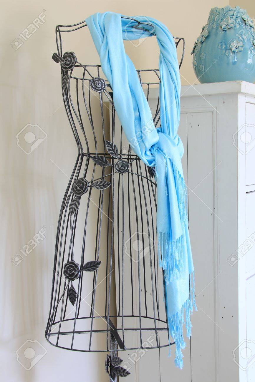 Vintage Mannequin Dress Form Stand Stock Photo, Picture And Royalty ...