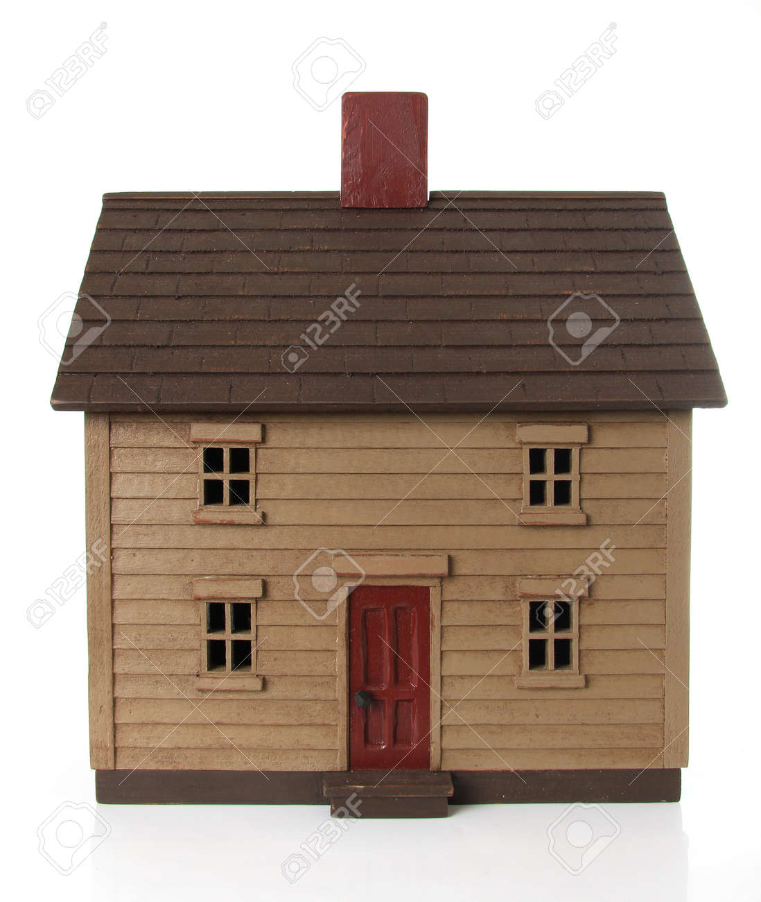 Shaker Style House Model Stock Photo   15422513