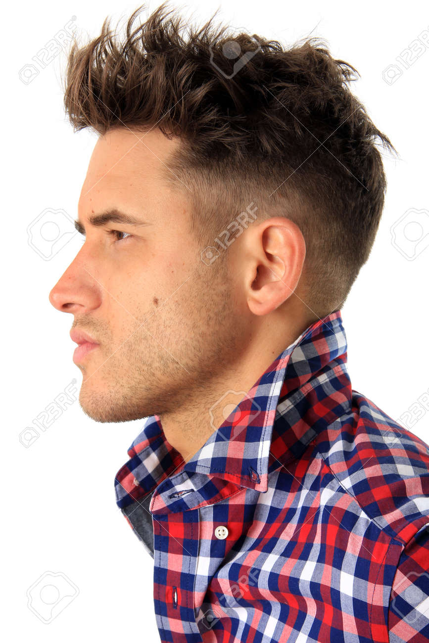 Profile of an attractive man Stock Photo - 17283499