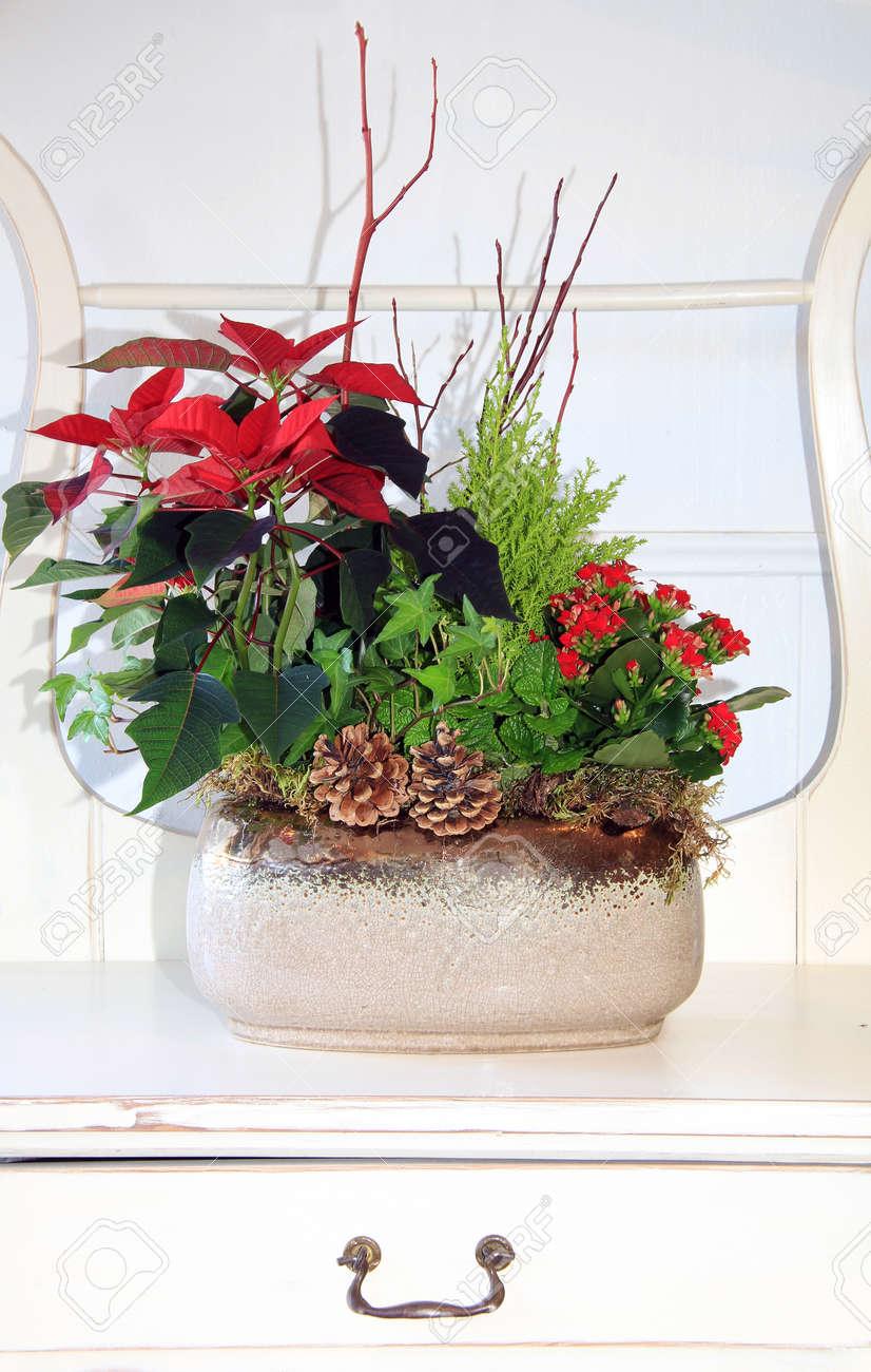 Arreglo Floral Cubierta Para La Navidad