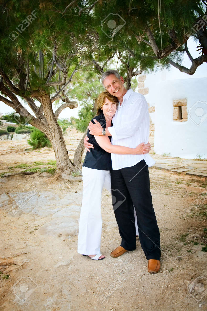 Mature couple in love Stock Photo - 5812585