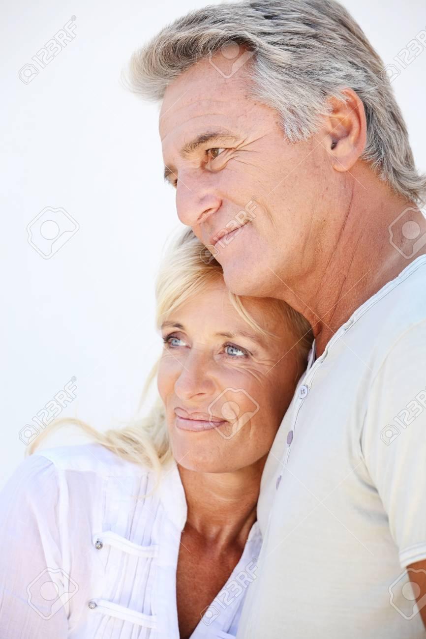 Happy mature couple Stock Photo - 8667389