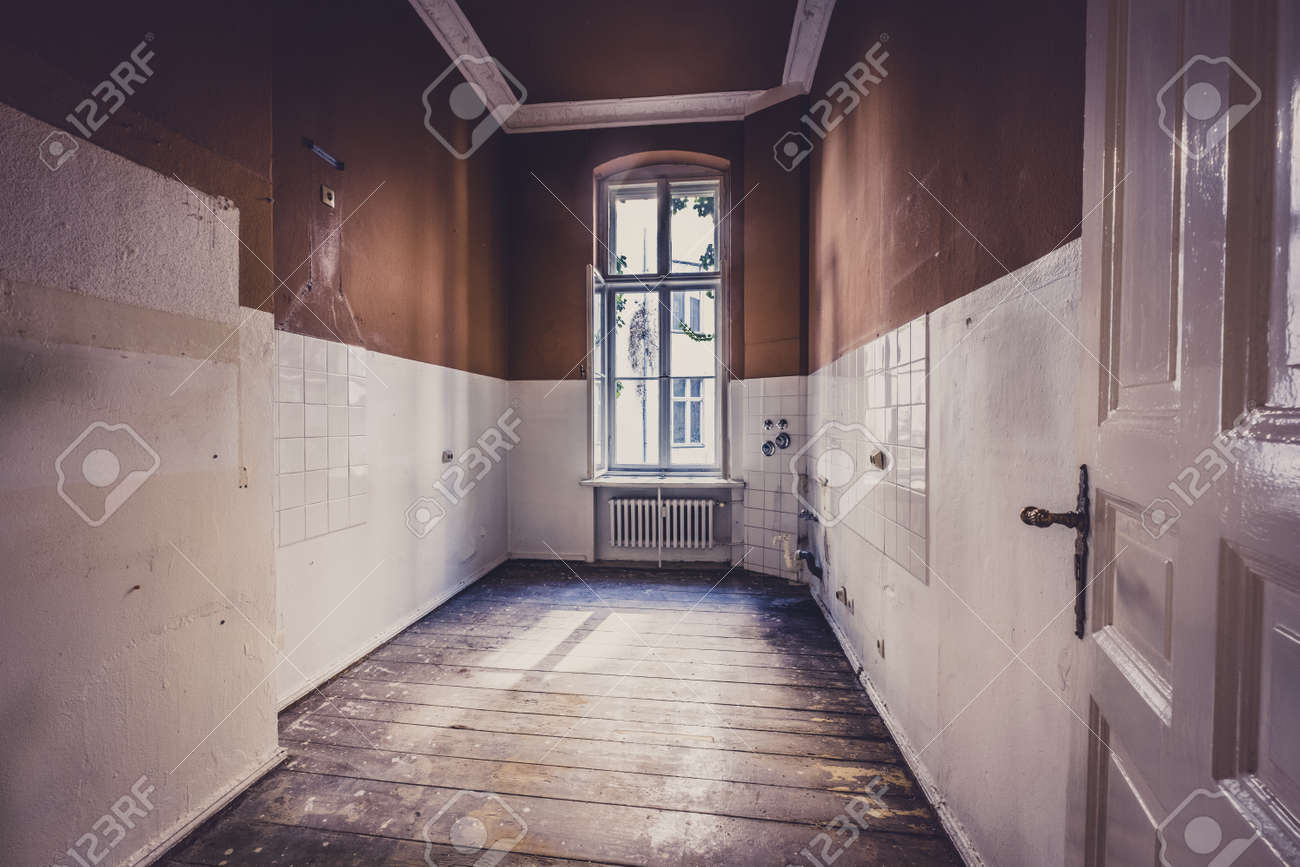 Old Kitchen Room Before Renovation Run Down Apartment Interior Stock Photo Picture And Royalty Free Image Image 106147834