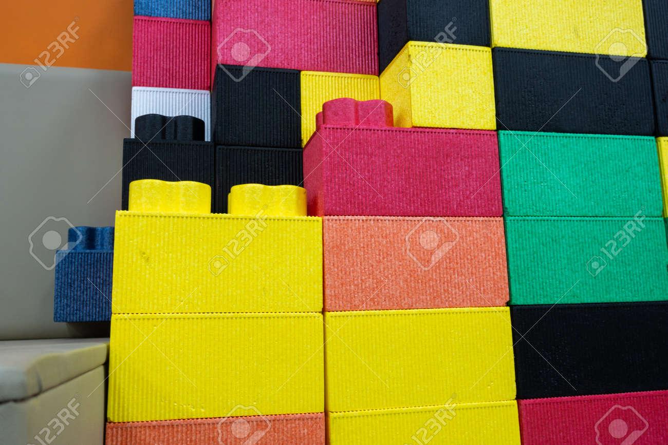 Colorful kids EPP foam toy blocks  Children safe toy