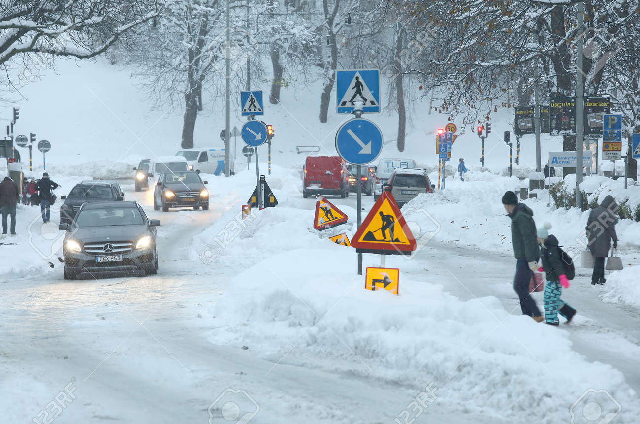 snow of sweden