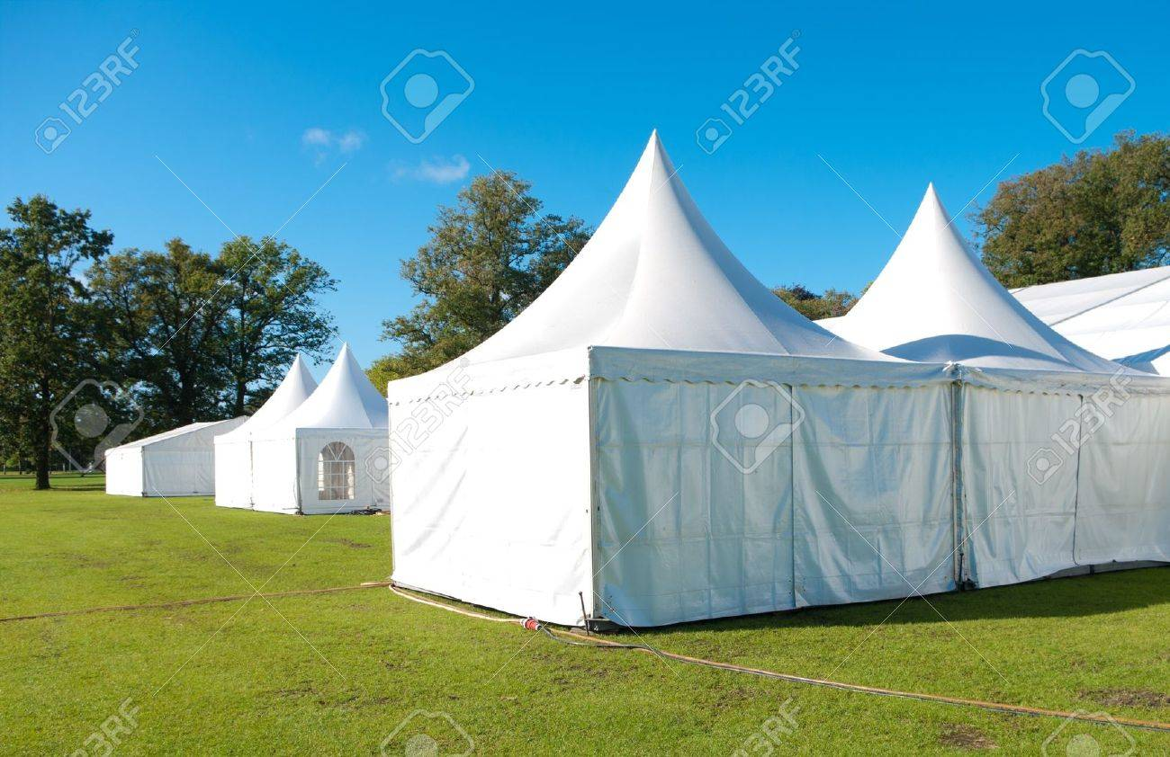 large white tent for large events Stock Photo - 7986776 & Large White Tent For Large Events Stock Photo Picture And Royalty ...