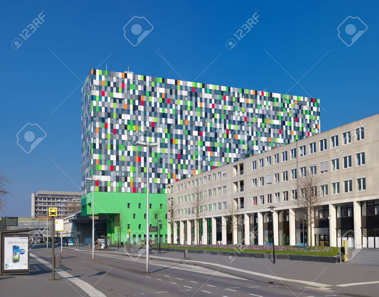 Modern Architecture Netherlands modern architecture on the campus of the utrecht university in
